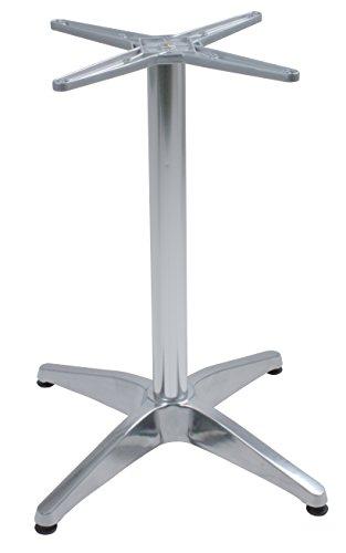 """VARILANDO Tischgestell """"Brenta"""" aus Aluminiumguss 4-Fuß für Garten und Gastronomie"""