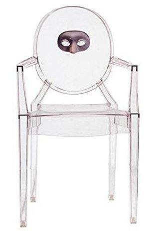 Kartell 4854DD Stuhl, 94 x 54 x 55 cm, Plastik transparent