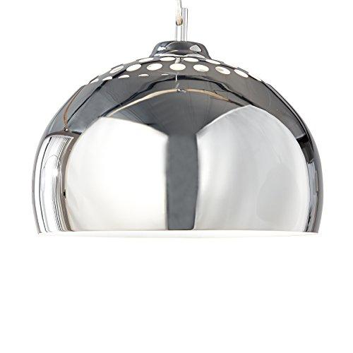 Invicta Interior Chrome Ball Designer Hängeleuchte chrom 30 cm