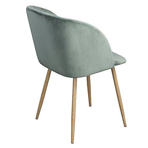 1er set vintager retro stuhl sessel polstersessel samt. Black Bedroom Furniture Sets. Home Design Ideas