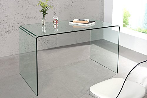 glas esstisch ghost transparent schreibtisch ganzglastisch glastisch tisch esszimmerst. Black Bedroom Furniture Sets. Home Design Ideas
