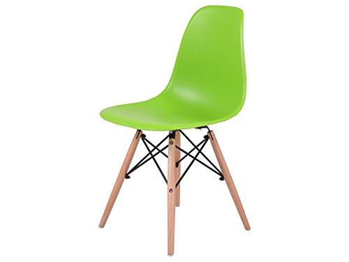 "Esszimmerstuhl Stuhl Essstuhl Küchenstuhl Schalenstuhl Loungestuhl ""Kihniö I"" grün"