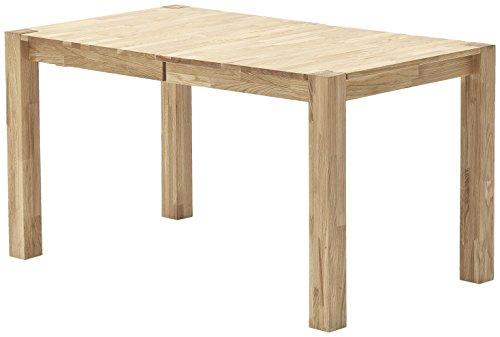 Robas Lund Tisch Esstisch Franz Holz Buche ausziehbar 140x 80x 76cm