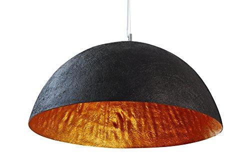 invicta interior glow stylische h ngeleuchte schwarz gold. Black Bedroom Furniture Sets. Home Design Ideas