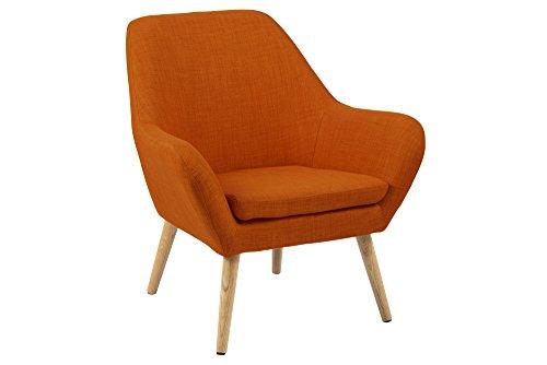 AC Design Furniture 58632 Loungestuhl Lulu, Stoff orange