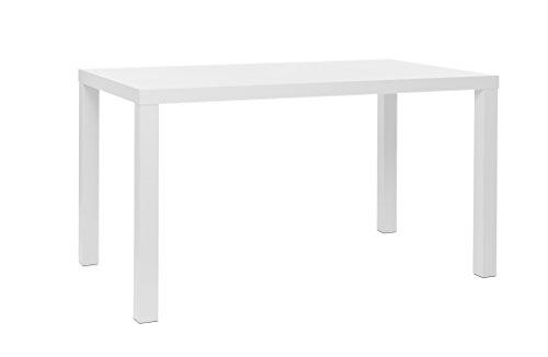 esstisch k chentisch 80 160 cm 4 gr en 2 farben wei. Black Bedroom Furniture Sets. Home Design Ideas