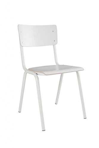 Zuiver - Stuhl Back to School HPL Weiß