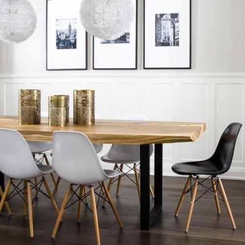 mcc retro design st hle lia im 2er set eiffelturm inspirierter style f r k che b ro lounge. Black Bedroom Furniture Sets. Home Design Ideas