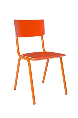 Zuiver - Stuhl Back to School HPL Orange