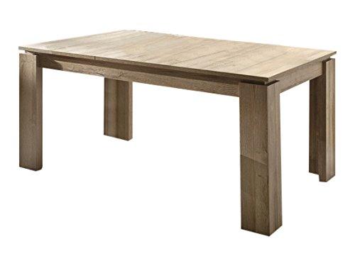 trendteam ET Esstisch Küchentisch ausziehbar | Alteiche | 160 - 200 x 90cm