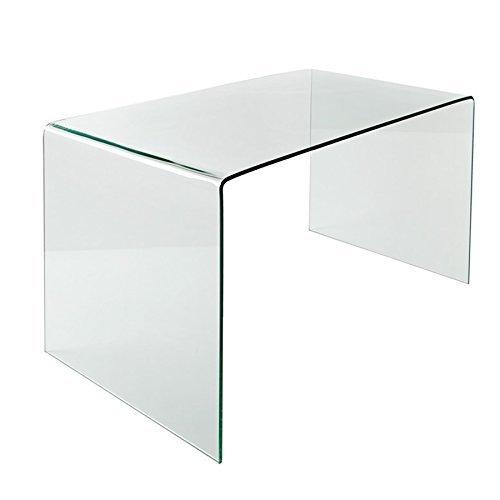 Glas Esstisch GHOST transparent Schreibtisch Ganzglastisch Glastisch Tisch