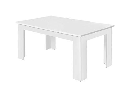 Tischgruppe - Esszimmertisch + 2 Bänke (verschiedene Farben und Größen wählbar)