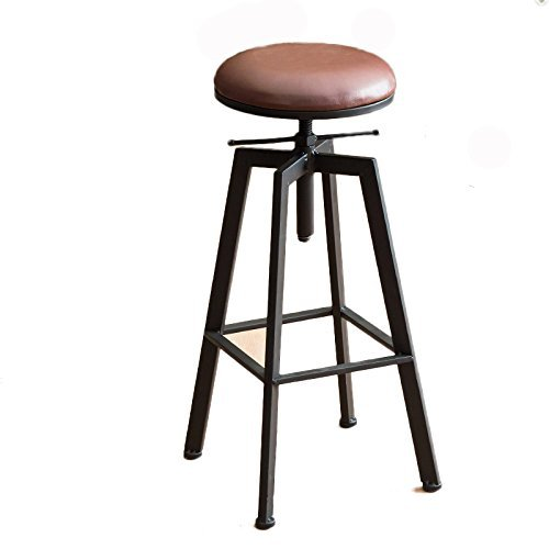 ASL Retro Bügeleisen Stuhl Lift Bar Stuhl, Haushalt Bar Hocker Hocker Bar Counter Coffee Shop Hochstuhl Bar Counter Chair Restaurant Shop Freizeit Chair 62-82cm Neu