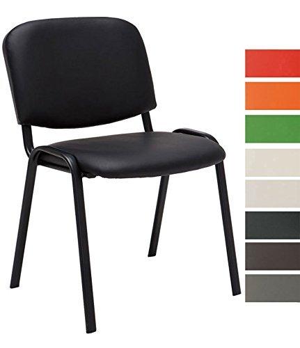 clp besucher stuhl stapelbar stapel stuhl ken kunstleder preiswert robust bequem. Black Bedroom Furniture Sets. Home Design Ideas