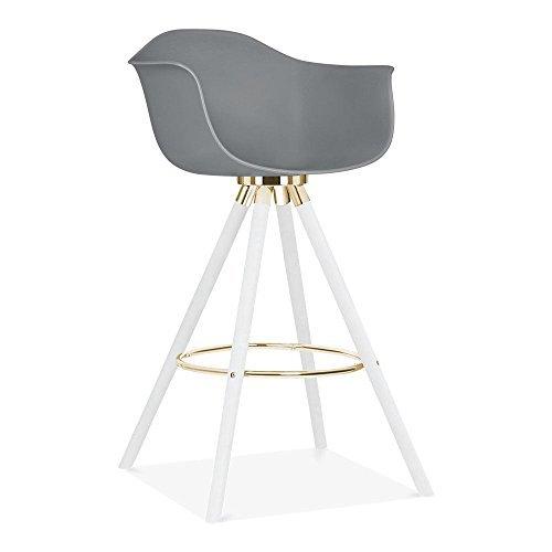 cult design moda barhocker mit armlehne cd2 grau esszimmerst hle. Black Bedroom Furniture Sets. Home Design Ideas