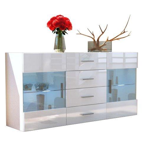 Sideboard Kommode Bari V1 V2 Weiß