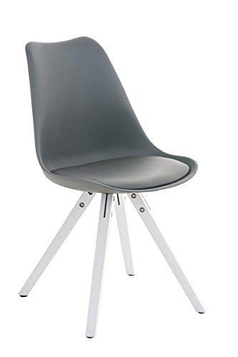 stuhl pegleg square wei grau esszimmerst. Black Bedroom Furniture Sets. Home Design Ideas