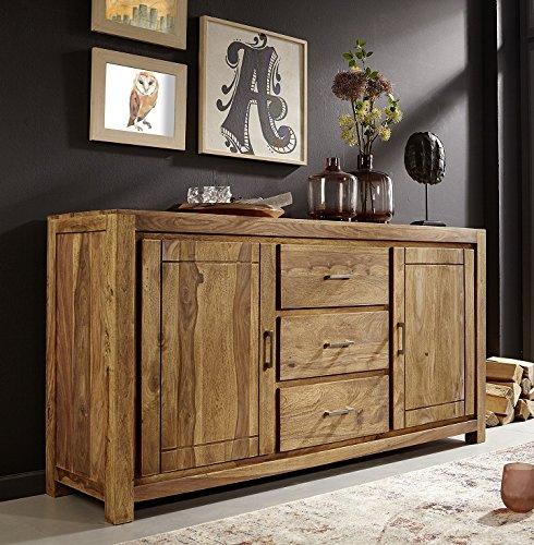 "Anrichte Sideboard 176cm ""Austin"" Sheesham massiv Holz"