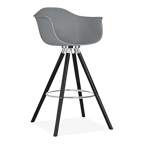 cult design moda barhocker mit armlehne cd2 grau esszimmerst. Black Bedroom Furniture Sets. Home Design Ideas