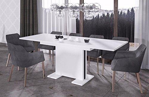 Endo Esstisch Linea 210 ausziehbar erweiterbar Küchentisch Esszimmertisch Säulentisch