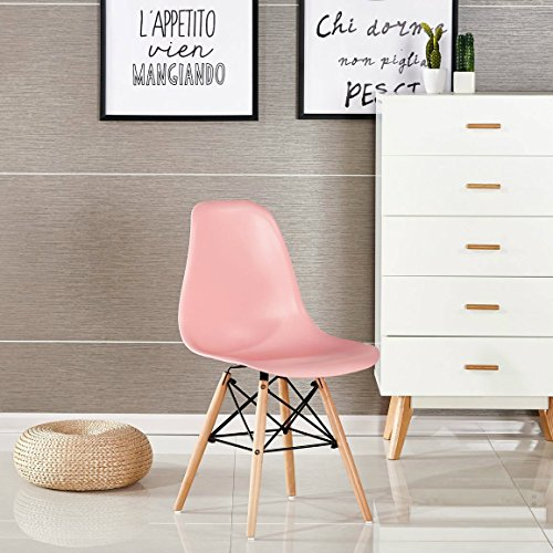 P & N Homewares® Moda Stuhl Kunststoff Retro Esstisch Stühlen Moderne Möbel