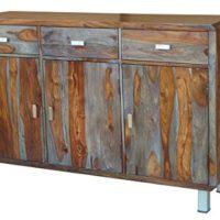 Sideboard-140x90cm-Nevada-Sheesham-lackiertgrau-0