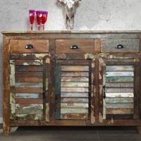 Sideboard-MADRAS-125-cm-aus-Recyclingholz-0