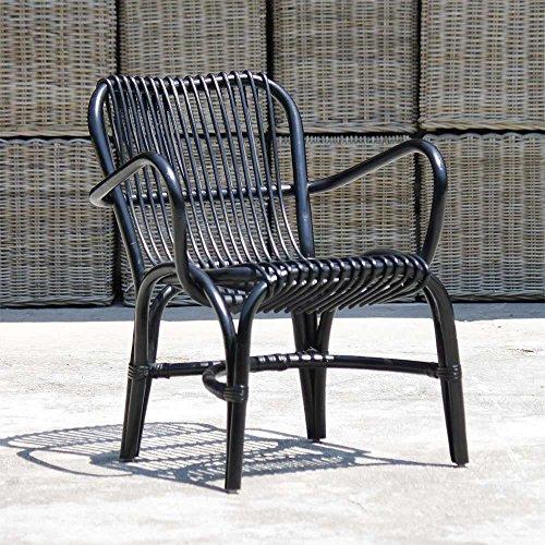 Stuhl Leonal in Schwarz Pharao24