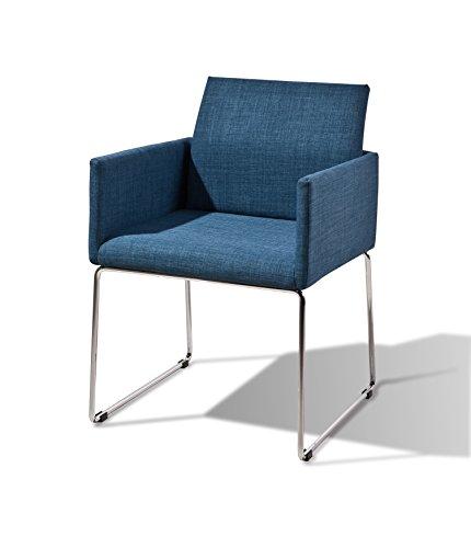 my Chair 100 Esszimmer Stuhl Retro Design, blau