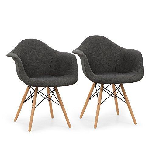 oneconcept visconti schalenstuhl retrostuhl esszimmerstuhl 70er jahre look retro. Black Bedroom Furniture Sets. Home Design Ideas