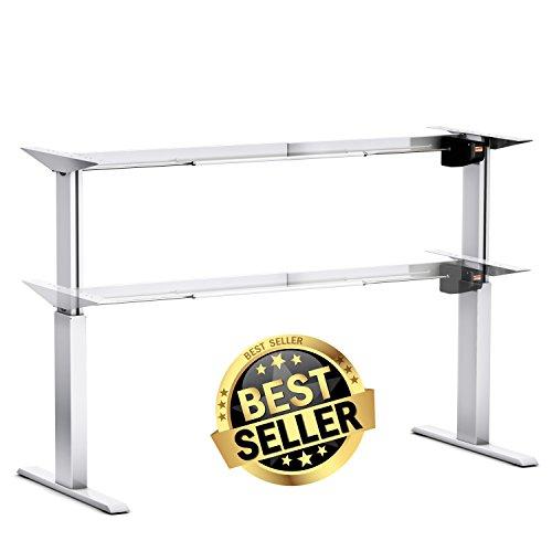 SWDirekt Tischgestell elektrisch - ein Gestell für alle Plattenmaße