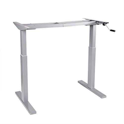 FLEXISPOT H2S Höhenverstellbarer Schreibtisch höhenverstellbares Tischgestell, passt für alle gängigen Tischplatten. Mit Memory-Steuerung und Softstart/-stop.