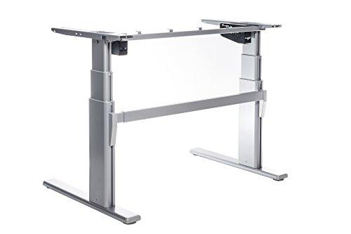 Höhenverstellbarer Schreibtisch TOP-ECO Classic V2. Elektrisch höhenverstellbares Tischgestell. Passt für alle gängigen Tischplatten. Der TÜV-geprüfte Klassiker und zuverlässige Preis-Leistungs-Sieger.