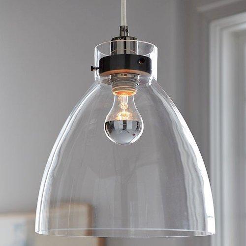 KJLARS Vintage Pendelleuchte Glas Hängelampe Retro Pendellampe Glaslampe Kronleuchter mit E27 Fassung leuchtmittel für esstisch, Restaurent ,cafe, loft, wohnzimmer , club
