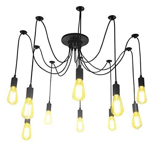 Lightsjoy Zündet Leuchter Lampe Steckdosen Lampe Anhänger Beleuchtung Partei DIY-Spider Zubehör Mehrbettzimmer Nachtbeleuchtung