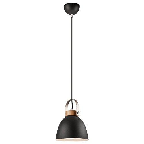Pendel-Leuchte Decken-Leuchte aus Metall E27 Hänge-Leuchte Vintage Industrieleuchte Wohnzimmerlampe Modern Wohnzimmer mit Kabel Vintagelampe für Wohnzimmer / Küche / Büro / Praxis