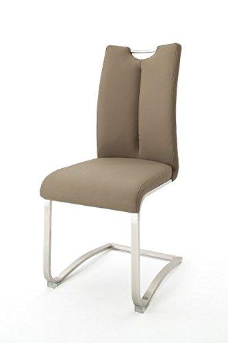 2 Stühle Artos, Schwinger, Schwingstuhl, Freischwinger, 140 kg, Leder
