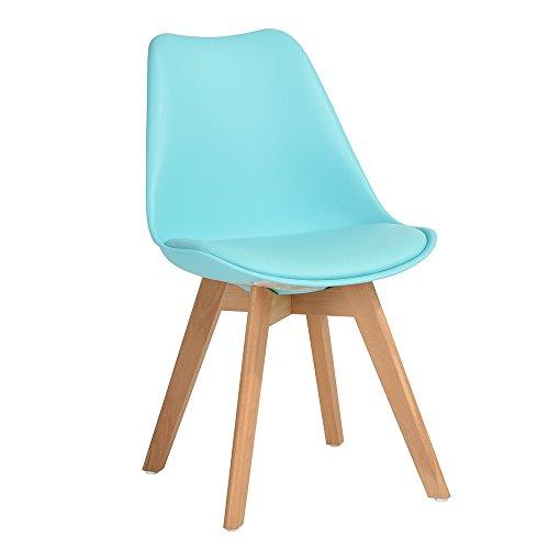 furnish 1 set aus 4 st hlen skandinavischen esszimmer. Black Bedroom Furniture Sets. Home Design Ideas