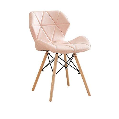 Freizeitstuhl/Studienbüro Make-up Hocker/Stuhl/Hocker/kreative Computer Stuhl/Stil Rückenlehne Esszimmerstuhl/faul Massivholz Stuhl/50 * 38 * 73cm