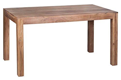 Mendler Esszimmertisch Konya, Tisch Esstisch, Akazie Massivholz, 76x140x80cm