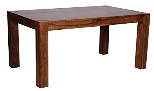 Mendler Esszimmertisch Malatya, Tisch Esstisch, Sheesham Massivholz, Ausziehbar, 160-240cm