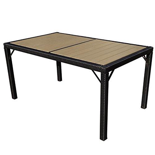 Mendler-Poly-Rattan-Gartentisch-Ariana-Tisch-Esszimmertisch-150x90cm-WPC-Anthrazit-0