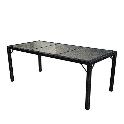 Mendler-Poly-Rattan-Gartentisch-Ariana-Tisch-Esszimmertisch-190x90cm-Glas-Anthrazit-0
