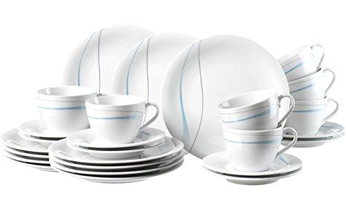Ritzenhoff & Breker Harmony Tafelservice Porzellan Geschirrset 36-teilig