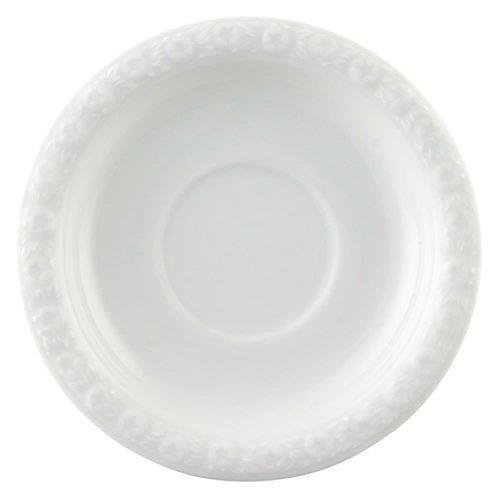 Rosenthal 10430-800001-14721 Maria Espresso-/Mokka-Untertasse 12 cm, weiß