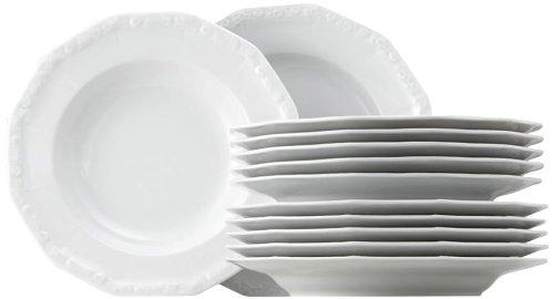 Rosenthal 10430-800001-18339 Maria Tafelset 12-teilig, weiß