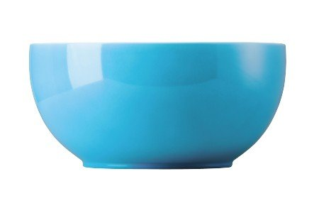 Thomas Sunny Day Schüssel, Schale, Salatschüssel, Porzellan, Waterblue / Blau, 25 cm, 13125