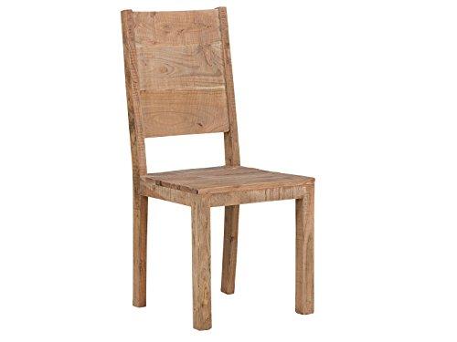 massivum Stuhl Kentucky massiv Akazie lackiert Lehnstuhl Holzstuhl Esszimmer Stühle Möbel