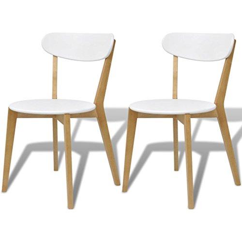 vidaXL 2/4/6x Esszimmerstuhl Stühle Holzstuhl Küchenstuhl Stuhlgruppe Birkenholz