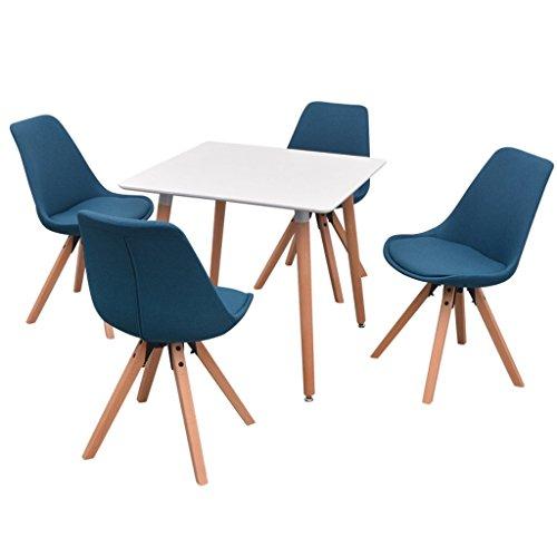 vidaXL 5/7tlg. Essgruppe Sitzgruppe Esstischset Esszimmer Stühle mehrere Auswahl
